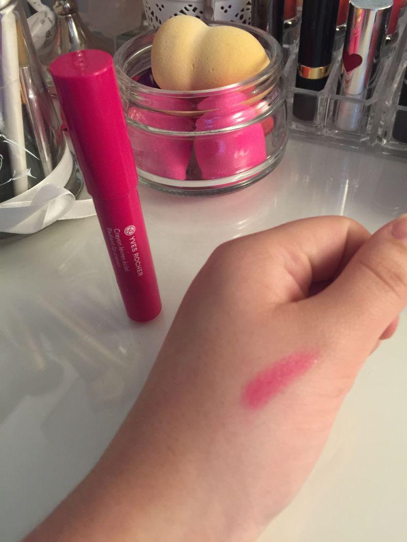 Swatch Crayon Lèvres Éclat - Couleurs Nature, Yves Rocher