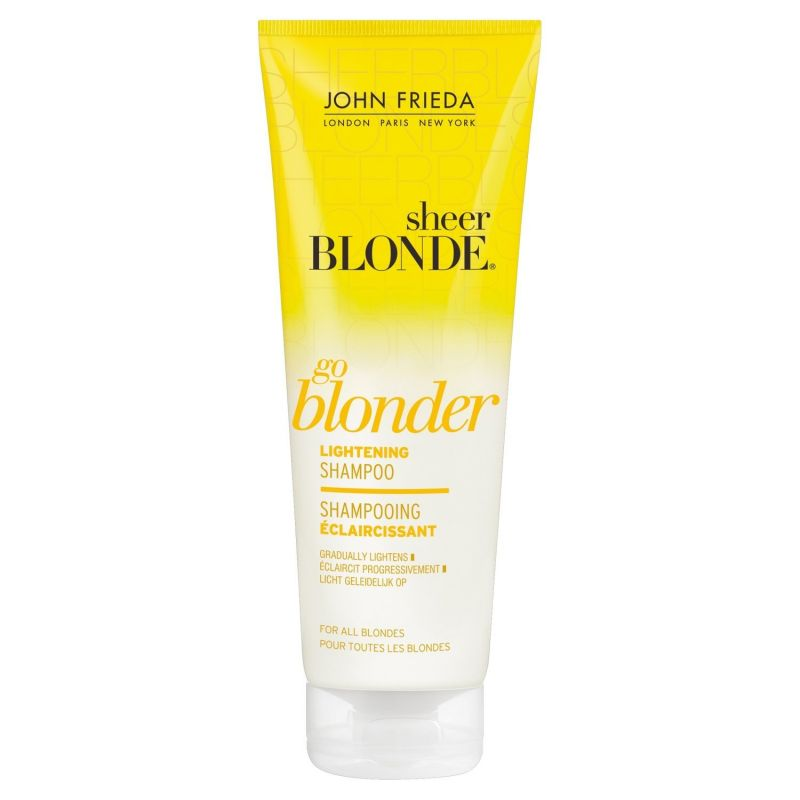 Shampoing éclaircissant Go Blonder Sheer Blonde, John Frieda : ElodieB aime !