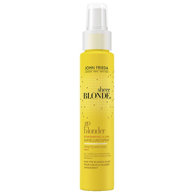 Spray éclaircissant Ciblé - Progressif Sheer Blonde, John Frieda - Infos et avis