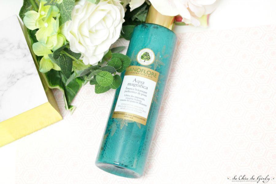 Swatch Aqua magnifica - Essence botanique perfectrice de peau Bio, Sanoflore