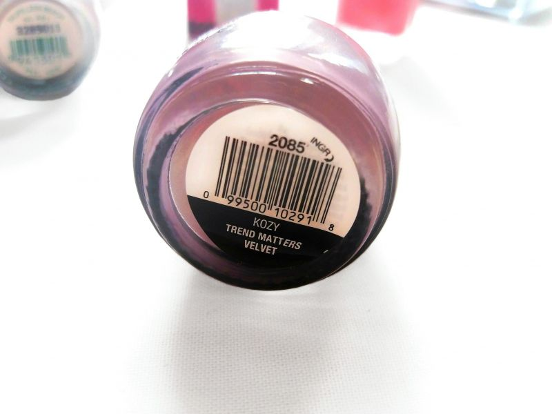 Swatch Vernis à Ongles, Sinful Colors