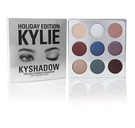 Holiday Palette Kyshadow, Kylie cosmetics - Infos et avis
