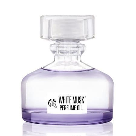 Huile de Parfum White Musk, The Body Shop : Sunshine aime !