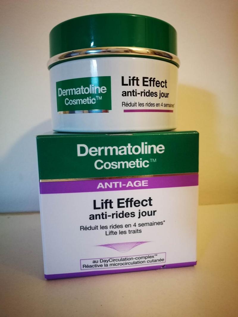 Swatch Lift-Effect Crème anti-rides de jour - 50 ml, Dermatoline Cosmetic
