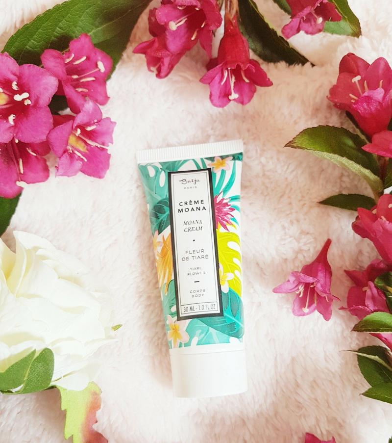 Swatch Crème MAONA fleurs de tiare, Baïja