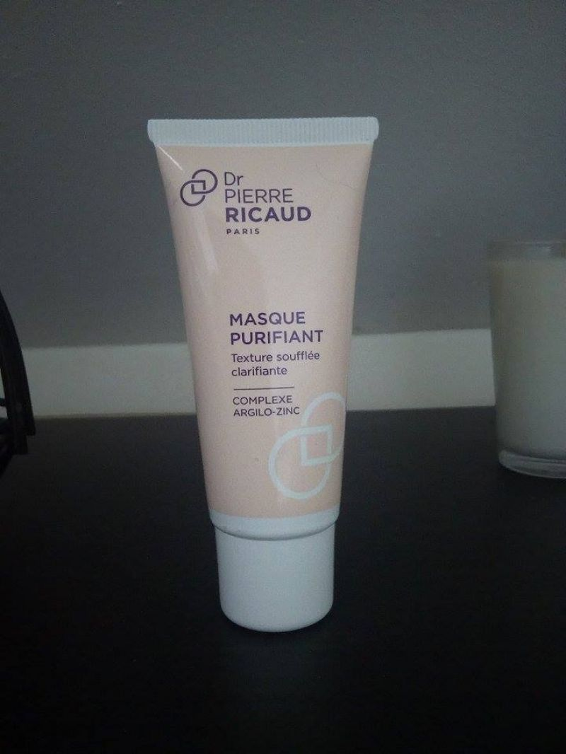 Swatch Masque purifiant, Dr Pierre Ricaud