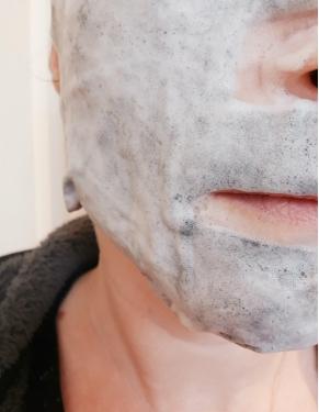 Swatch Bubblesheet - Masque Nettoyant Oxygénant, Glamglow