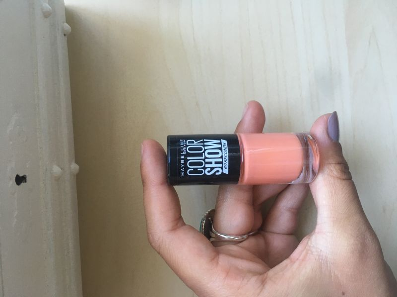 Swatch Vernis Colorshow Bleached Neons, Gemey-Maybelline