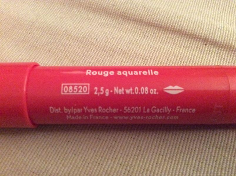 Swatch Crayon à lèvres, Yves Rocher