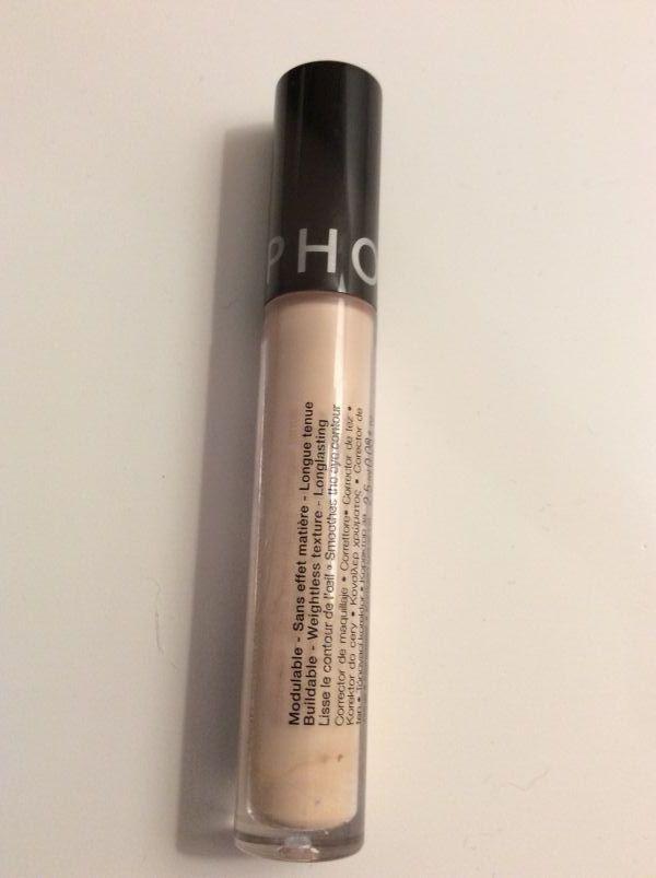 Swatch Anticernes haute couvrance - Fini naturel, Sephora