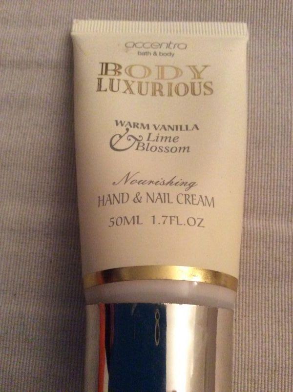 Swatch Crème pour les mains, Body luxurious