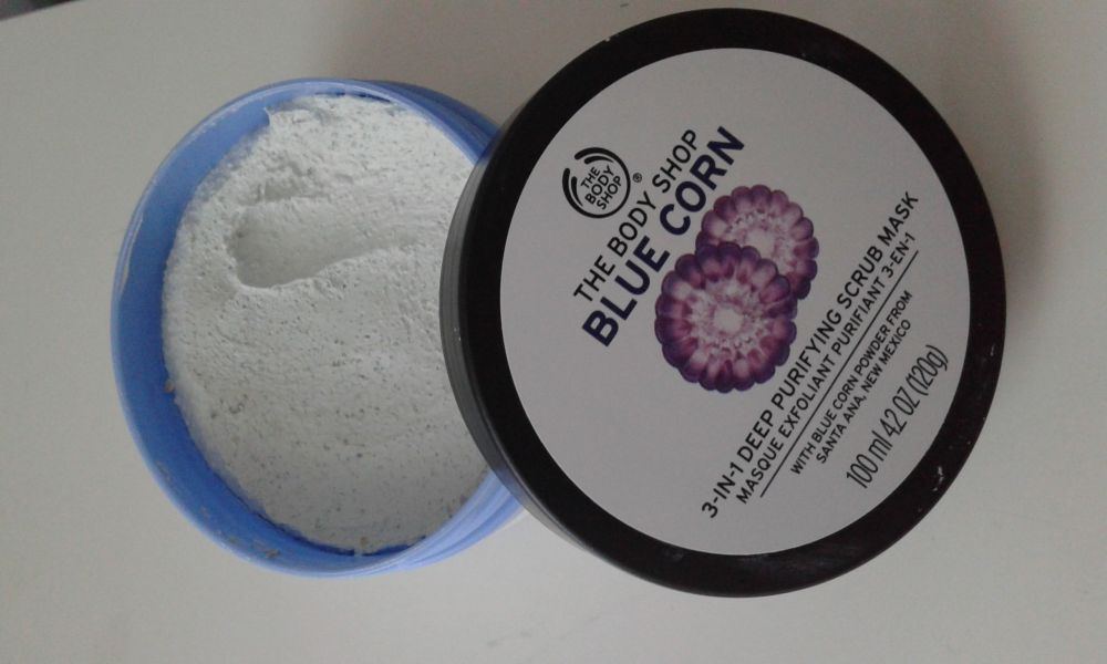 Swatch Masque Exfoliant Purifiant 3-En-1, The Body Shop
