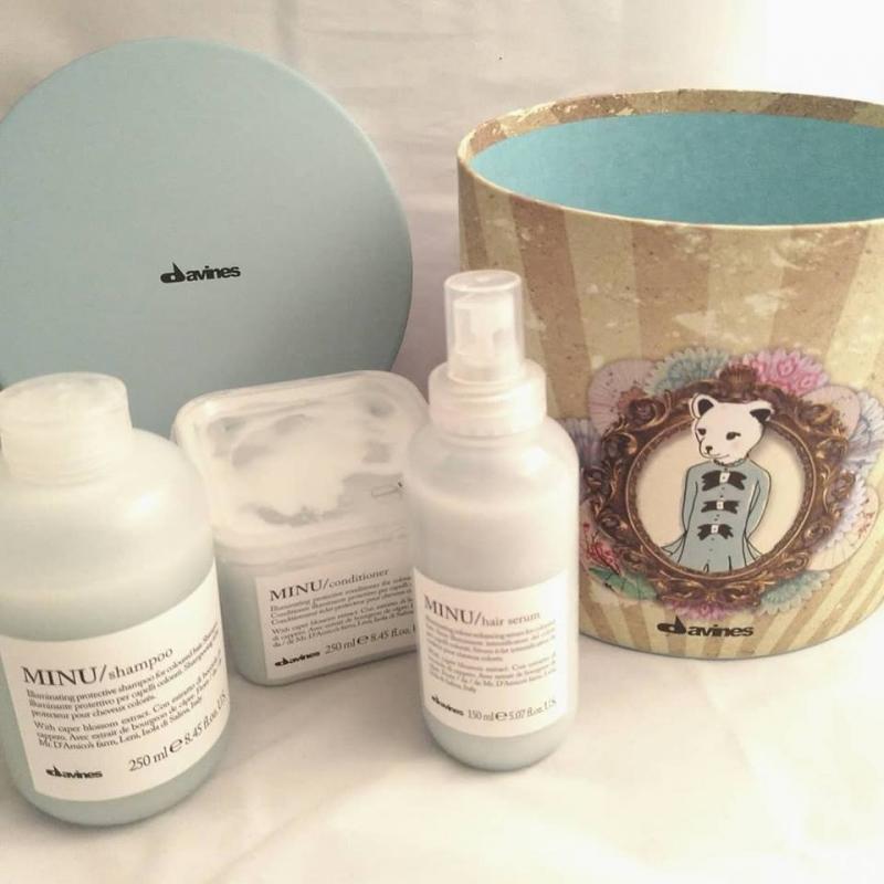 Swatch Minu Shampoo, Davines