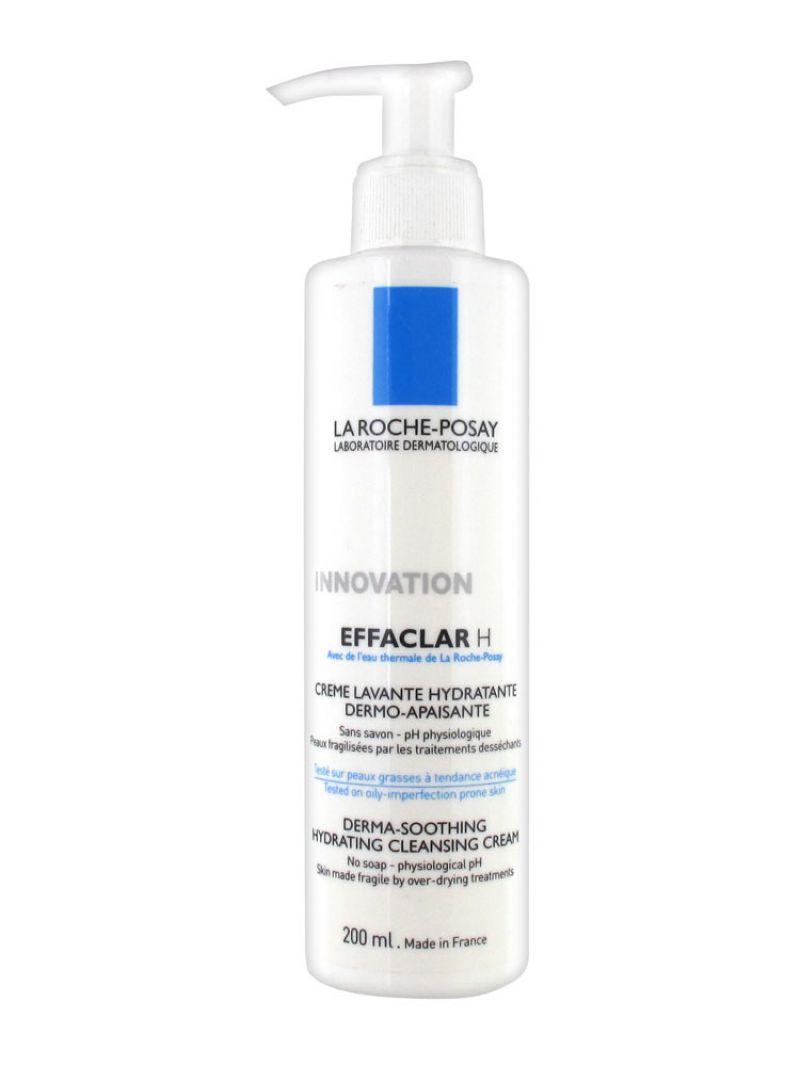Crème lavante dermo-apaisante EFFACLAR H (peaux fragilisées par les traitements désséchants), La Roche-Posay - Infos et avis
