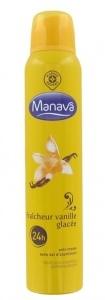 Déodorant fraîcheur Vanille Glacée 24 H - Manava de Leclerc Marque Repère, Manava - Infos et avis