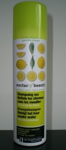 Swatch Shampoing Sec Citron - Nectar of Beauty de Les Cosmétiques Design Paris, Nectar of Beauty