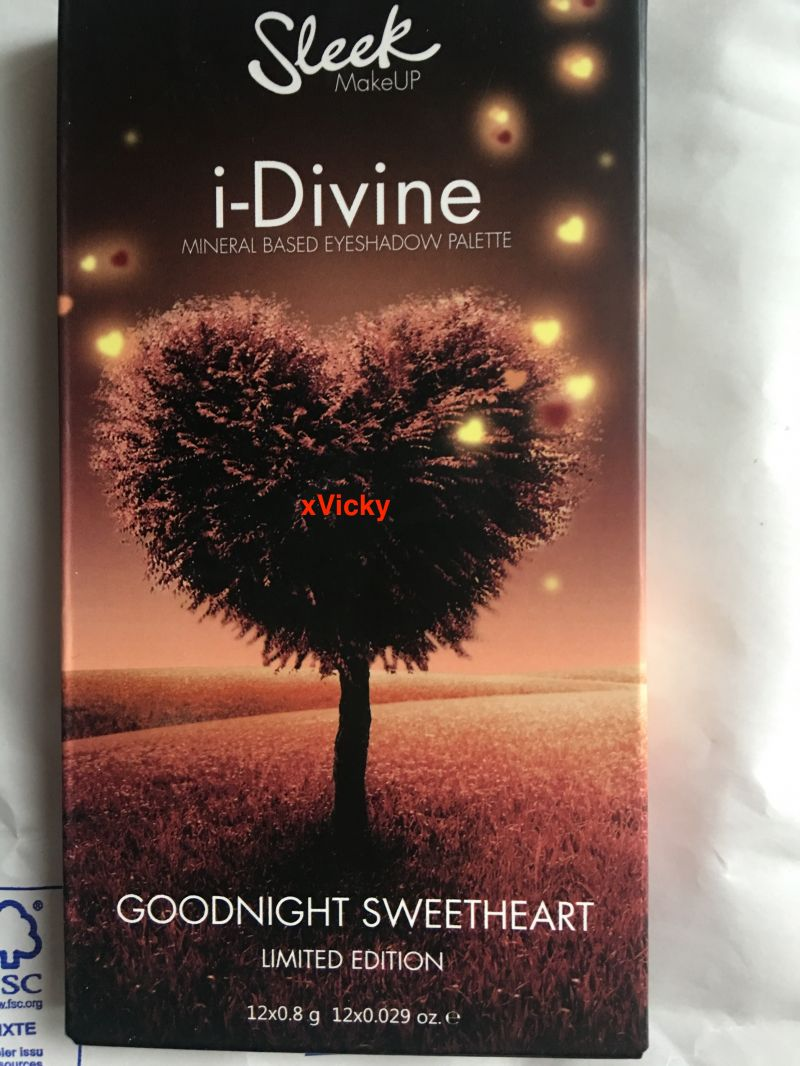 Swatch I-Divine Goodnight Sweetheart, Sleek MakeUP