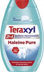 Dentifrice   bain de bouche Teraxyl 2en1 Haleine Pure de Teraxyl, Teraxyl - Infos et avis