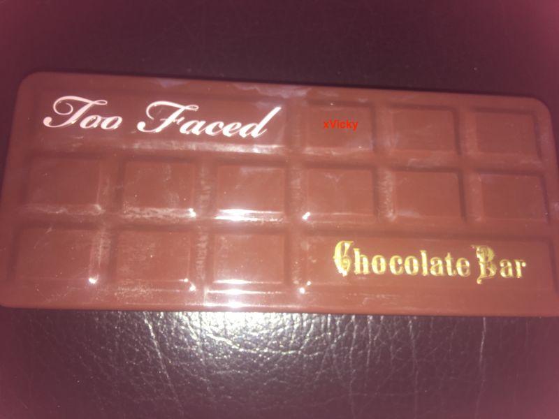 Swatch Chocolate bar - Palette de fards à paupières, Too Faced