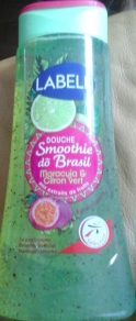 Swatch Douche Smoothie do Brasil - Maracuja & Citron vert de  Labell, Labell