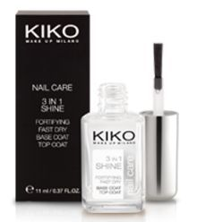 3 in 1 Shine - Advanced Nail Care de Kiko, Kiko - Infos et avis