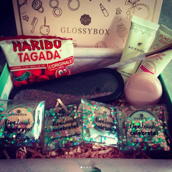 Swatch La box Glossybox, Glossybox