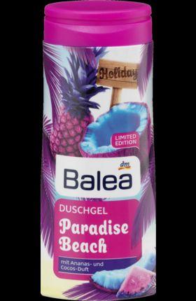 Gel douche Paradise Beach Edition Limitée de chez Balea, Balea - Infos et avis