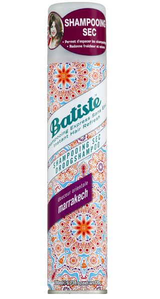 Shampooing sec Batiste - Douceur orientale Marrakech, Batiste - Infos et avis