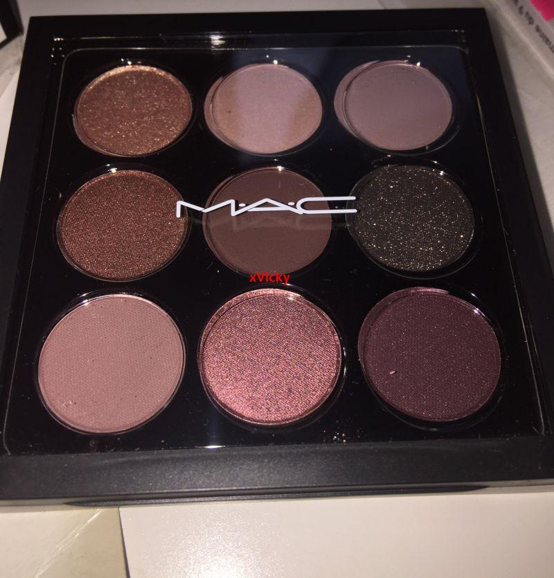 Swatch Palette : Burgundy de chez Mac, Mac