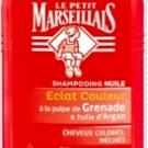 Shampooing Huile Eclat Couleur - Pulpe de Grenade & Huile d'Argan par  Le Petit Marseillais, Le Petit Marseillais - Cheveux - Shampoing