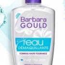 L'Eau Démaquillante formule haute tolérance de Barbara Gould, Barbara Gould - Soin du visage - Démaquillant / démaquillant waterproof