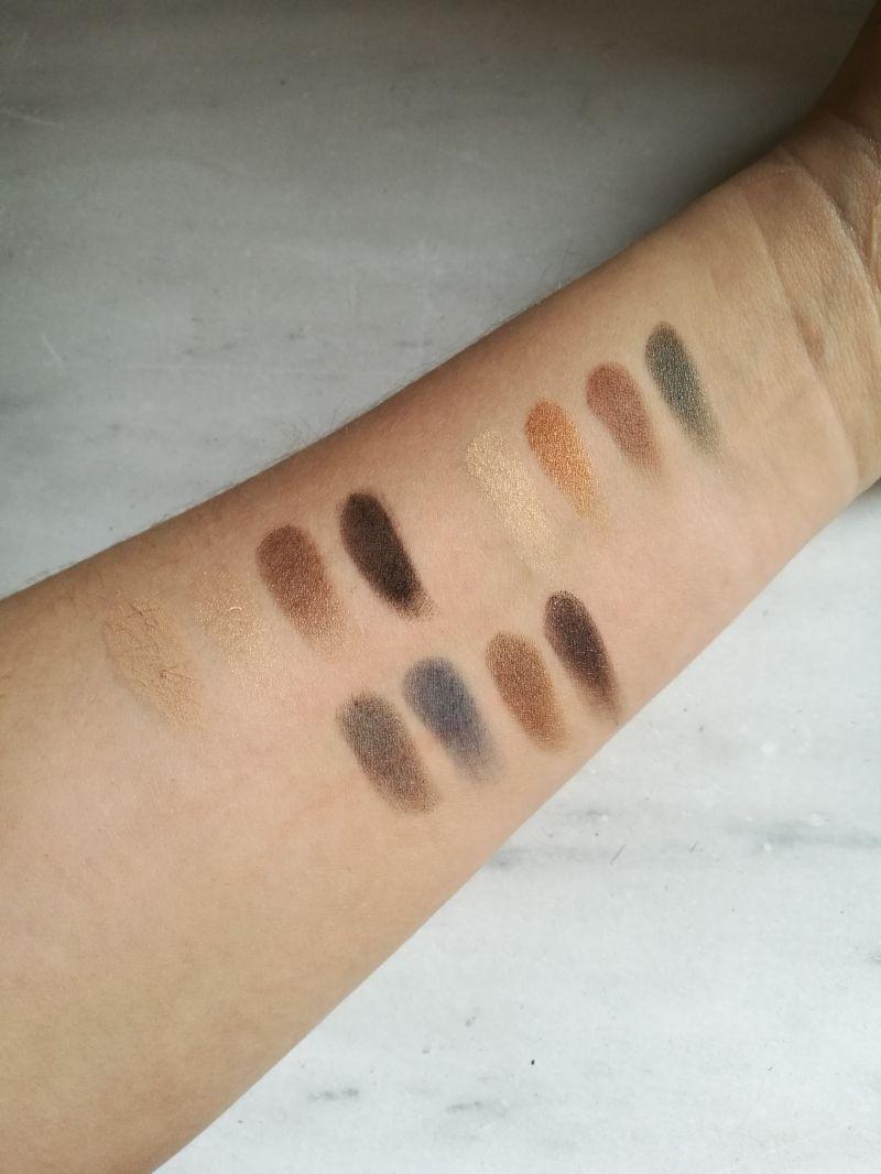 Swatch NARSissist Eyeshadow Palette - Palette de fards à paupières, Nars