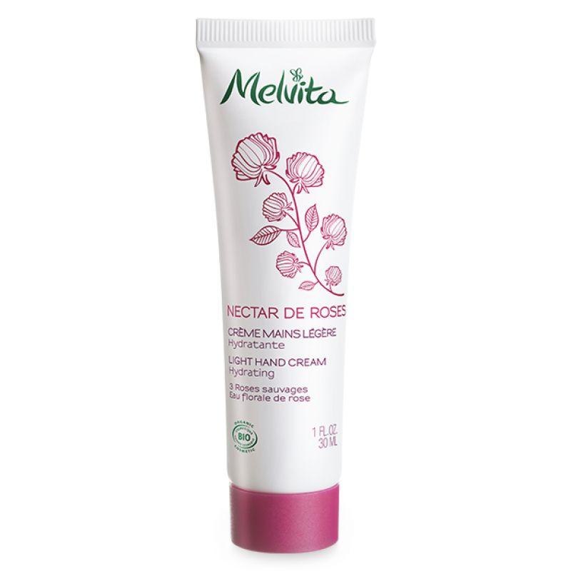 Crème Mains Légère Nectar de roses, Melvita - Infos et avis
