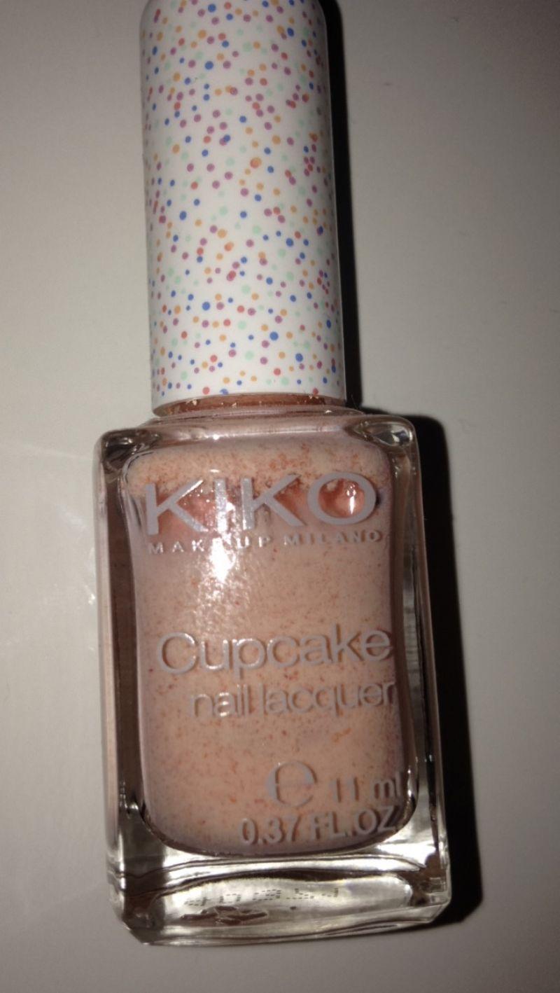 Swatch Cupcake Nail Lacquer, Kiko