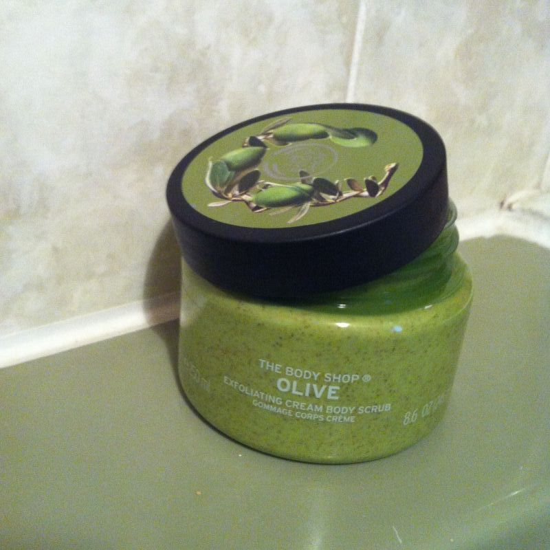 Swatch Gommage Corporel Olive, The Body Shop