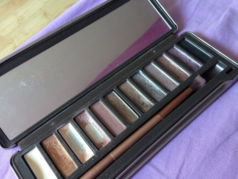 Swatch Naked 2 Palette, Urban Decay