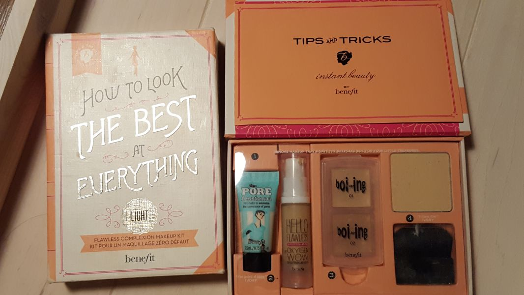 Swatch How to look the best at everything, Benefit Cosmetics