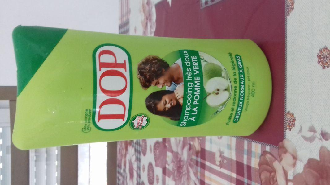 Swatch Shampoing doux à la pomme verte, Dop