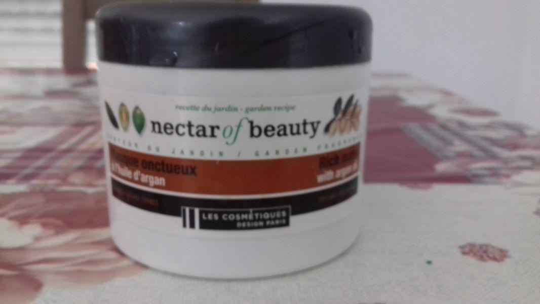 Swatch Masque Onctueux à l'huile d'argan, Nectar of Beauty