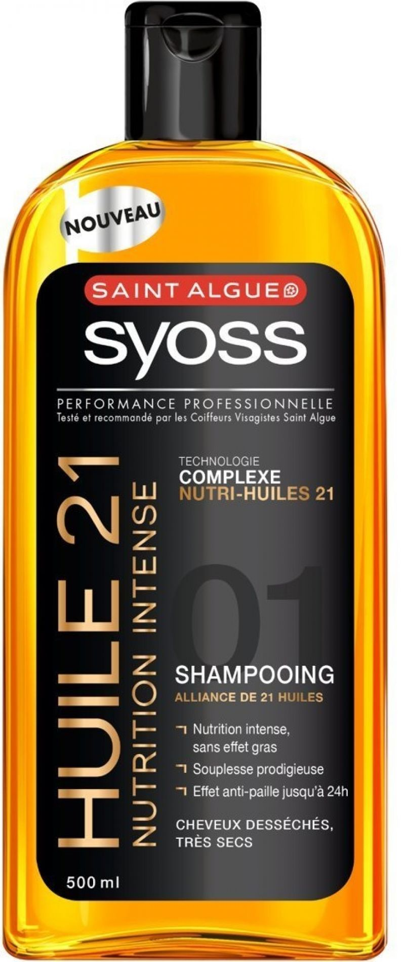 Huile 21 Nutrition Intense, Saint Algue Syoss : sofasong aime !
