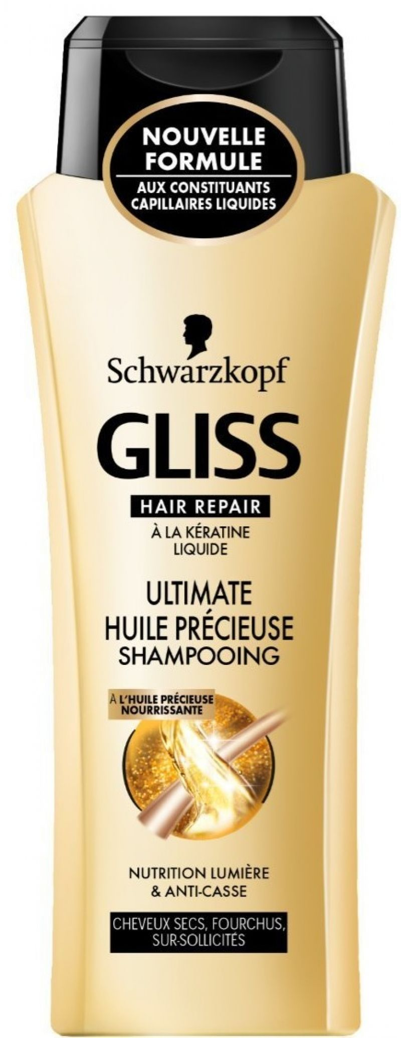 Shampooing Gliss Hair Repair Ultimate Huile Précieuse, Schwarzkopf : sofasong aime !