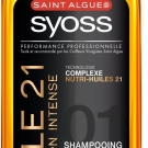 Huile 21 Nutrition Intense, Saint Algue Syoss - Cheveux - Shampoing