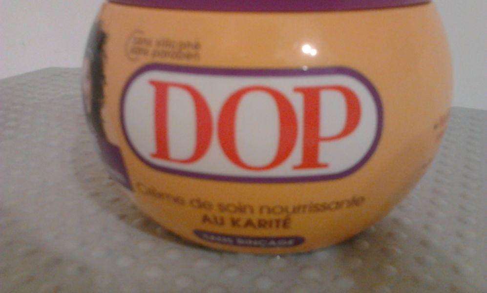 Swatch Crème de soin au karité, Dop