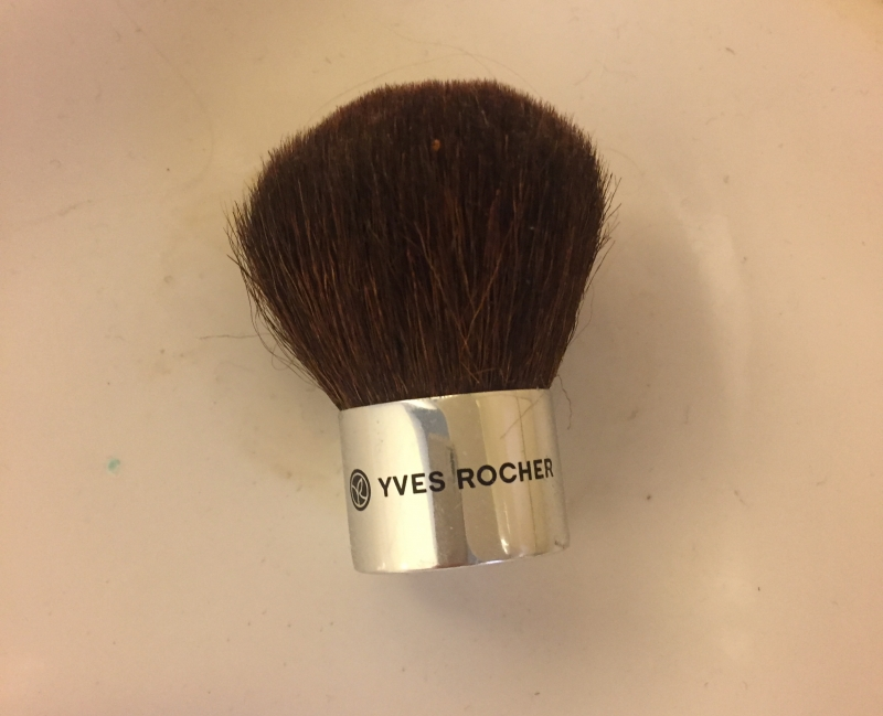 Swatch Pinceau Kabuki, Yves Rocher