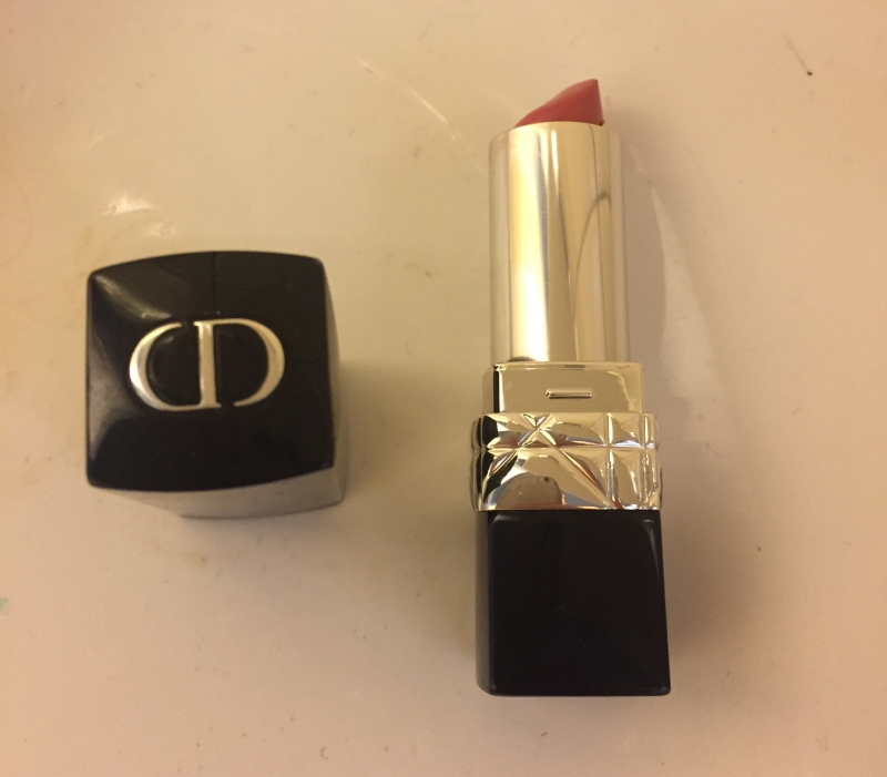 Swatch Rouge Dior Baume, Dior