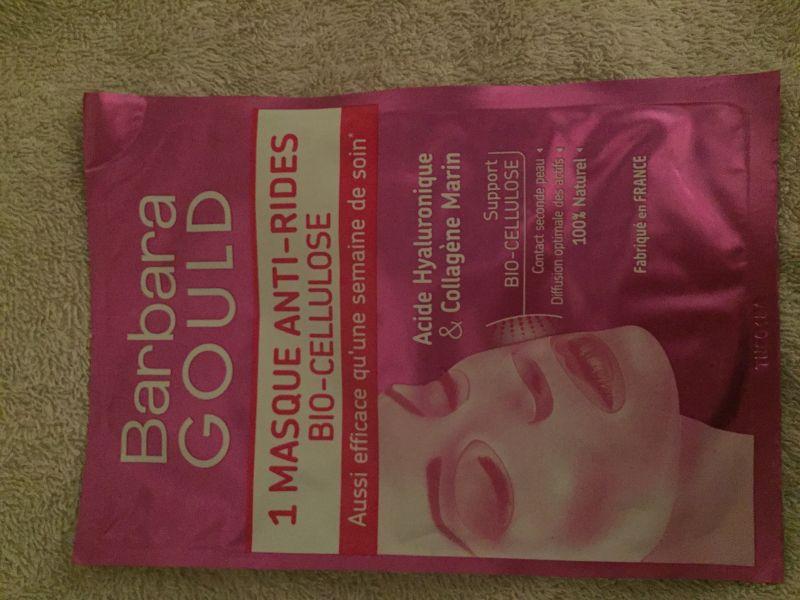Swatch Masque anti ride bio cellulose, Barbara Gould