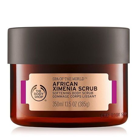 Gommage Corporel Lissant Au Ximenia D'Afrique Spa of the World, The Body Shop - Infos et avis