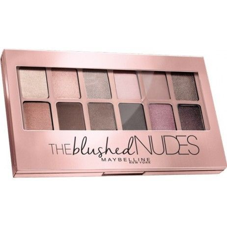 Swatch Palette Yeux The Blushed Nudes Gemey-Maybelline, Gemey-Maybelline