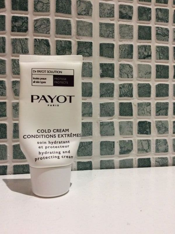 Swatch Cold cream, Payot