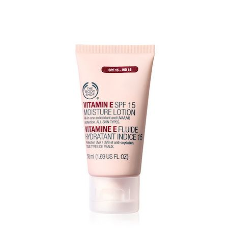 Fluide Hydratant SPF15 Vitamine E, The Body Shop - Infos et avis